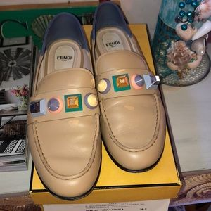 Fendi Monster Loafers/ Fendi Roma / Made in Italy